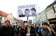 В Словакии демонстранты потребовали расследовать убийство журналиста