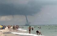 Над пляжем в Одессе пронесся смерч
