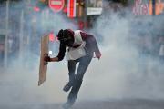 Полиция Турции разогнала десять тысяч протестующих слезоточивым газом