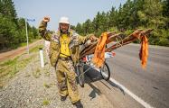 Отряд шамана, шедшего изгонять Путина, продолжил его путь