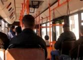 Житель Слуцка поссорился с кондуктором и разбил стекло в автобусе