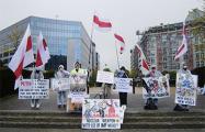 В Брюсселе прошла акция, посвященная трагедии ЧАЭС