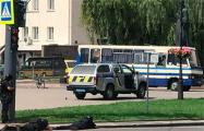Луцкий террорист отпустил трех заложников