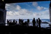 Космический корабль Orion приводнился в Тихом океане