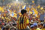 На марш в поддержку независимости Каталонии вышли до 1,8 миллиона человек