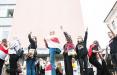 «Не трожь студентов!»: столичные партизаны проводят акции солидарности