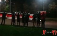 Жители Витебска вышли на вечернюю акцию солидарности