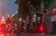 Зеленый Луг массово вышел на вечернюю акцию