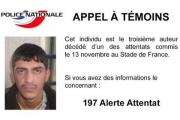 Полиция Франции опубликовала фото еще одного участника терактов