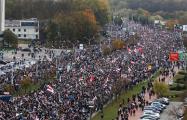 «Наша Нiва»: На Марше в Минске уже более 200 тысяч протестующих