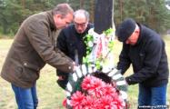Акция памяти в Гомеле: активисты принесли цветы на места расстрелов