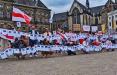 Амстердам вышел на марш в поддержку белорусов