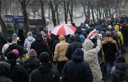 Жыве Беларусь: Минчане устроили перекличку