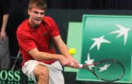Белорусский теннисист вышел в финал турнира в Стокгольме
