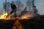 Пожары в лесах Чернобыля вернут радиоактивные облака в небо Европы