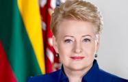 Президент Литвы поздравила поляков по-польски