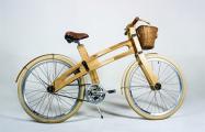 В Беларуси начали выпускать деревянные велосипеды