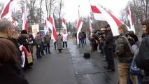 Активистов оппозиции задержали за гимн «Магутны Божа»