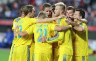 Сборная Украины по футболу установила уникальный рекорд всех времен