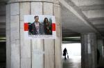 Центр Минска заклеили плакатами ко Дню Воли