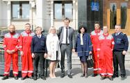 В Украине наградили героический экипаж катера за отпор военному кораблю РФ