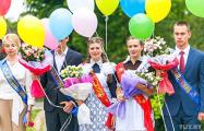 Выпускник на линейке в минской гимназии: 9 августа в нашей стране произойдут долгожданные перемены