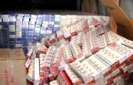 На белорусско-литовской границе задержали две фуры с контрабандными сигаретами на миллионы евро