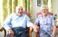 Британцы Джордж и Дорин стали самыми пожилыми молодоженами в мире