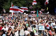 Видеофакт: Ощущение праздника и свободы в Бресте после окончания митинга