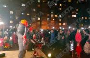 Сотни минчан пришли на концерт во дворе ЖК «Магистр»