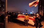 Жители ЖК «Магистр» вышли на вечерние шествие