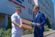 ТРЦ Galleria Minsk передал медицинское оборудование 6-й городской клинической больнице