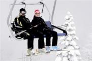 Лукашенко и Медведев покатались на лыжах