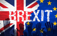 В британском парламенте активисты устроили акцию во время дебатов по Brexit