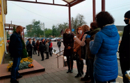 В Слуцке массово судили тех, кто возлагал цветы к памятнику жертвам Холокоста