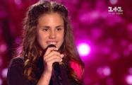 Видеофакт: Дочь Калюжного зажгла на украинском конкурсе «Голос. Дети»