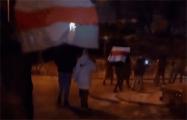 Жители Уручья вышли на вечерний марш