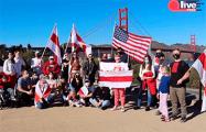 Белорусы США начали амбициозное бело-красно-белое путешествие