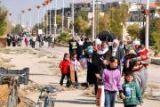 Повстанцы в осажденном сирийском городе подписали соглашение о перемирии с властями