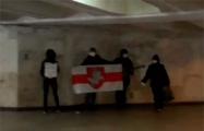 Белоруски исполнили «Погоню» в минском метро