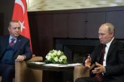 В Сочи завершилась встреча Путина и Эрдогана