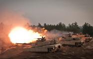 Американские танкисты провели первые стрельбы в Эстонии