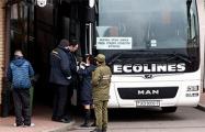 Вокзалы продают последние автобусные билеты в Литву и Украину