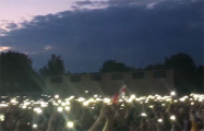 Видеофакт: Прямо сейчас тысячи огней горят в Бобруйске