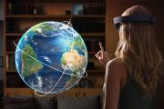 Первая версия очков дополненной реальности Hololens появится через год