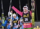 Домрачева заняла третье место в общем зачете Кубка мира по биатлону