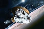 НАСА показало карту водяных льдов Плутона