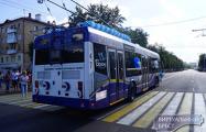 Видеофакт: Троллейбусы в Бресте ездят без проводов