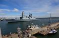 Корабли НАТО вошли в порт Одессы: впечатляющие фото
