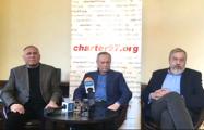 Лидеры белорусской оппозиции провели пресс-конференцию в Варшаве